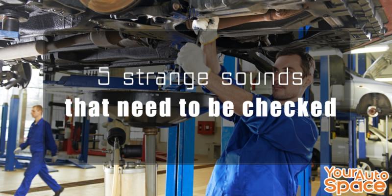 car repair in garage
