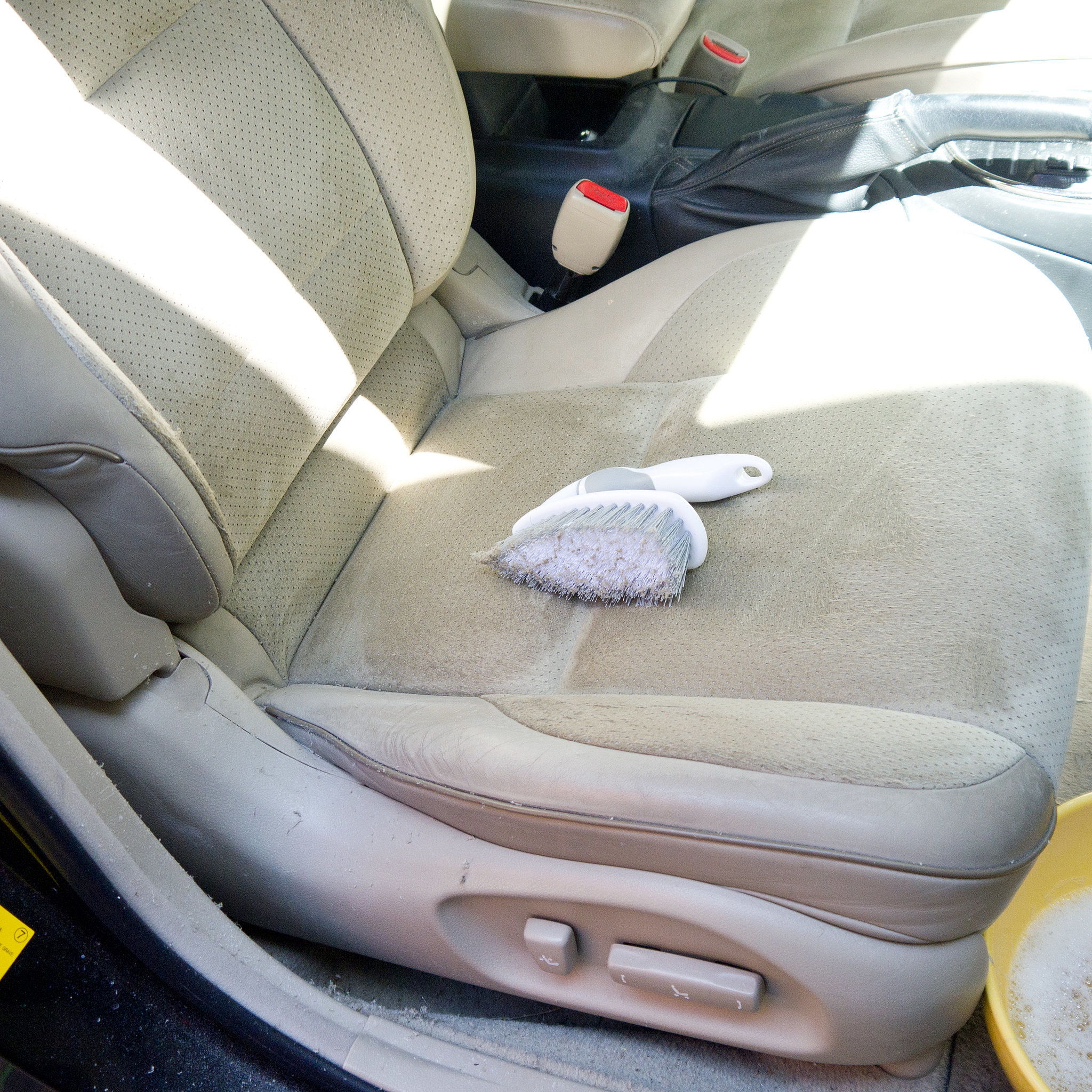 eliminate ink from car seats