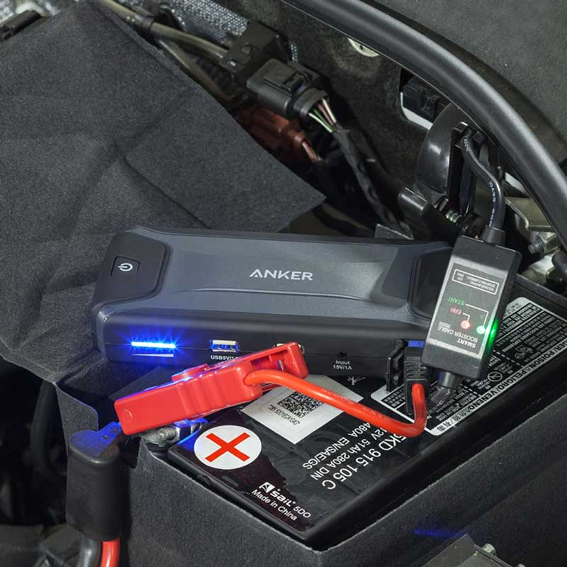 how to use a jump starter