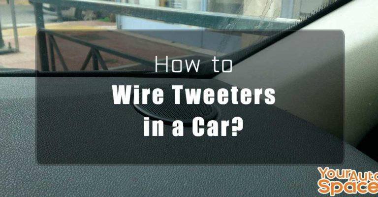 how to wire tweeters for cars easy way