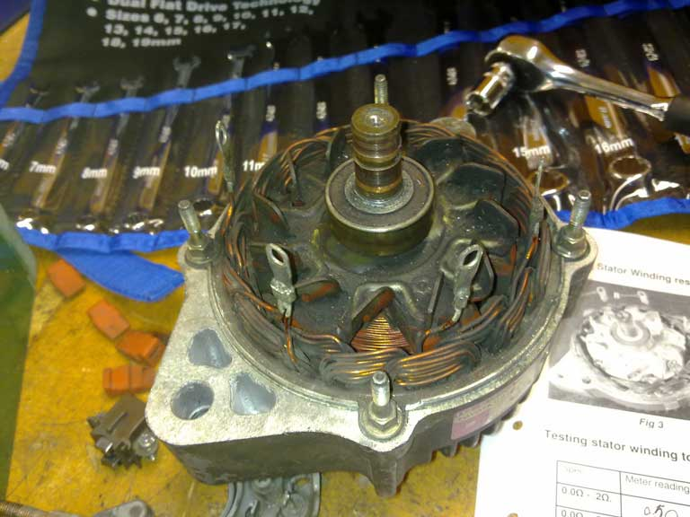The Stator Ring for wheel alignment