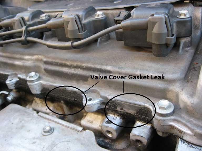 gasket leak on car