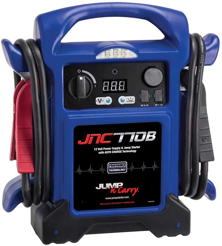 Jump-N-Carry JNC770B 1700 Peak power jump starter