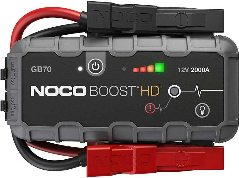 NOCO Genius Boost HD GB70 2000 Amp 12V